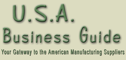 USA business guide is a list of certified American manufacturing, suppliers, wholesale vendors and US companies with international background to support worldwide business... automation, apparel, lingerie, shoes, furniture, beauty care, health care, chemical, automotive, electronics, industrial equipment, communications, tiles, costruction, wine, vacations, real estate... in the United States of America
