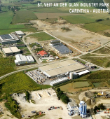 "SANKT VEIT AN DER GLAN INDUSTRIAL PARK ""Made in Karnten"" Carincia - Austria significa alta tecnologia y calidad industrial asegurada... Carincia llamada ""La Silicon Alpes"" ofrece fabricantes y productores Europeos calificados de electronica, ingenieria, tecnologia industrial para desarrollar software, information technology IT para aplicaciones industriales, repuestos electronicos, sistemas micro-electronicos, y mucho mas.... Components Industriales para la industria global y el mercado de la distribucion... Made in Carinthia (Karnten)..."